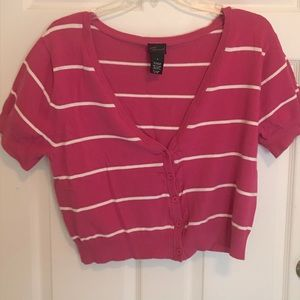 Torrid cardigan crop sweater size 2